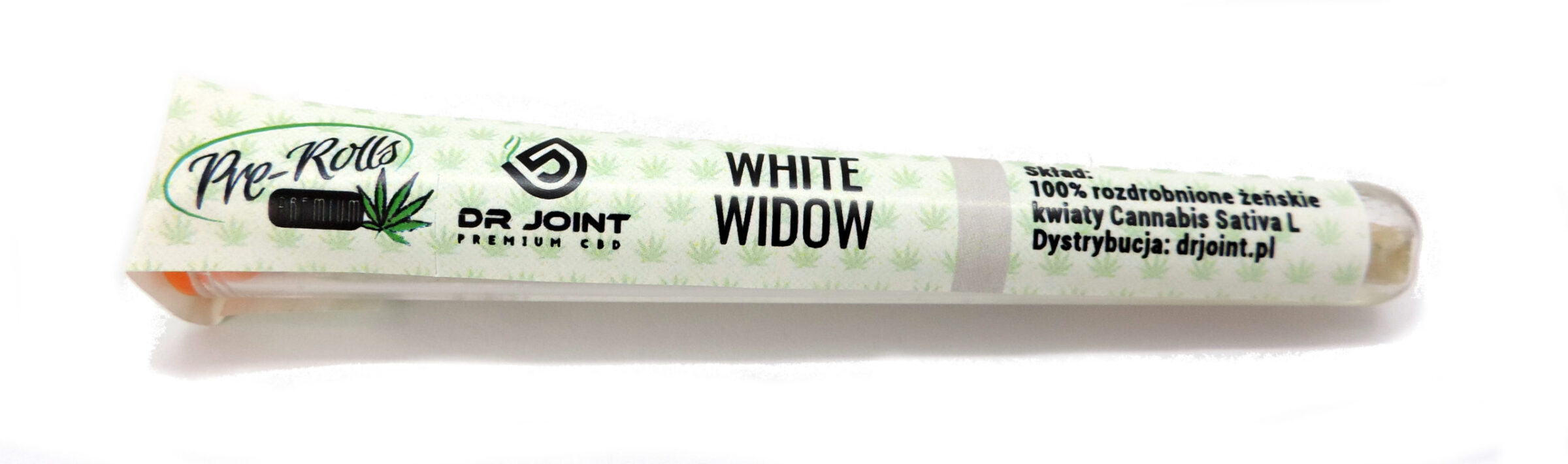 Pre-rolls CBD joint White Widow